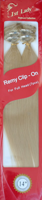 1st Lady Remy Clip On Hair