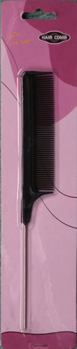 Metal handle comb