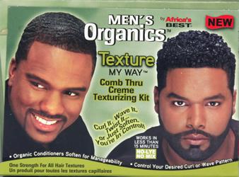 Africa's Best MEN'S ORGANICS Comb Thru Creme Texturising Kit