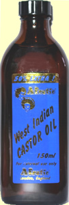 Afrotic West Indian Castor Oil
