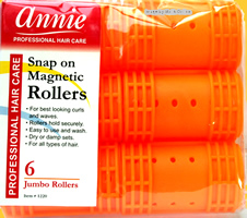 Annie Snap on Magnetic Rollers 6 Jumbo