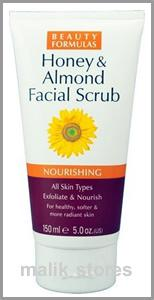Beauty Formulas Exfoliating Facial Scrub