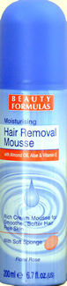 Beauty Formulas Hair Removal Mousse
