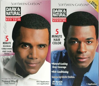 Dark & Natural 5 Minute Permanent Hair Colour for Men