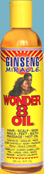 Ginseng Miracle Wonder 8 Oil