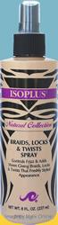 ISOPLUS Natural Collection Braids Locks & Twists Spray