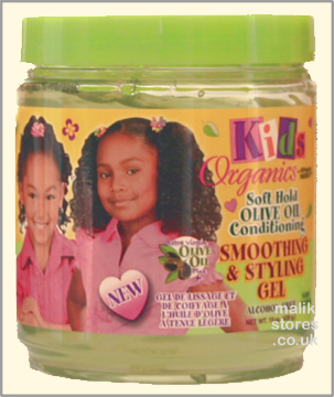 Kids Organics Smoothing & Styling Gel
