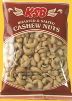 KSB Cashew roasted and salted