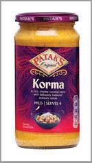 Patak's Korma Cooking Sauce
