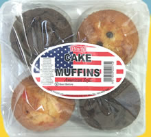 Pearl's Cake Muffins American Style