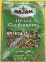 Rajah Green Whole Cardamoms