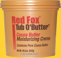 Red Fox TUB O' Butter Cocoa Butter Moisturising Lotion