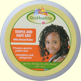GroHealthy Olive Temple and Nape Gro