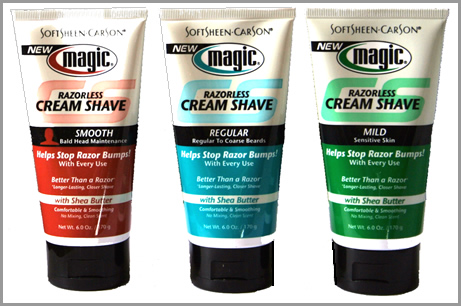 SoftSheen Carson Magic Razorless Cream Shave 170 grams