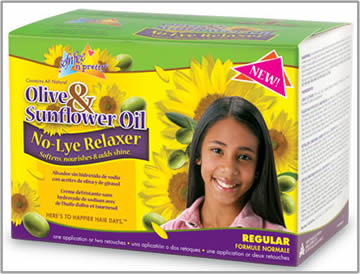 Sof n free n pretty Olive and Sunflower Oil Relaxer kit