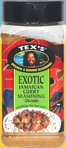 Tex's Exotic Jamaican Curry Seasoning
