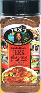 Tex's Jamaican Jerk Seasoning