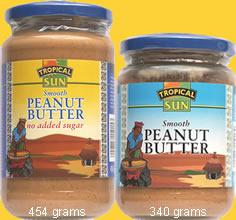 Tropical Sun Peanut Butter SMOOTH