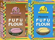 Tropiway FUFU Flour Cocoyam