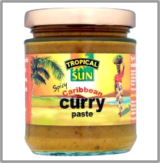 Tropical Sun Spicy Caribbean Curry Paste