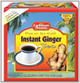 Caribbean Dreams Hot or Ice Cold Instant Ginger Tea
