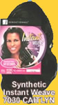 Feme Sensationnel Synthetic Hair: Instant Weave 7030 CAITLYN