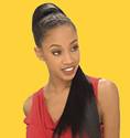 FreeTress: Drawstring Ponytail YAKI STRAIGHT