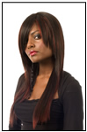 Sleek Spotlight Pizzazz Swiss Net Wig
