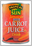 Tropical Sun Carrot Juice Drink