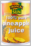 Tropical Sun Pure Pineapple Juice